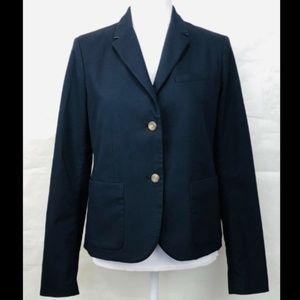 Gap The Academy Blazer Navy Blue Classic Jacket